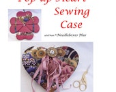 Etui Pop Up Heart Sewing Case - KIT ONLY