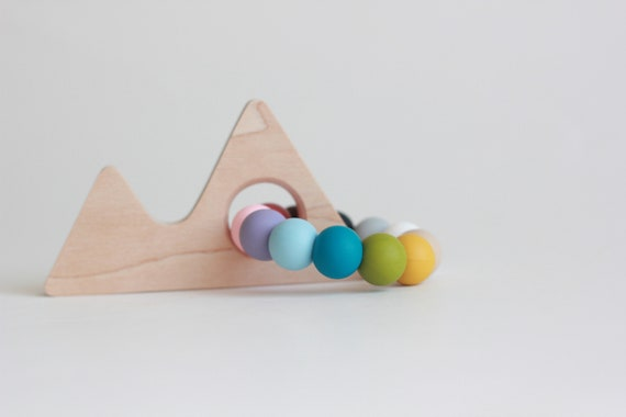 Mountain Maple Teether MADE in CANADA Teething Toy wooden  202e71c7c