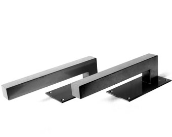 """Heavy Duty Door Handle - Commercial or Exterior Use - 1.5"""" Square Tube - 8 - 20"""""""