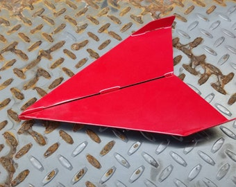 "Steel ""paper"" airplane - 12"""