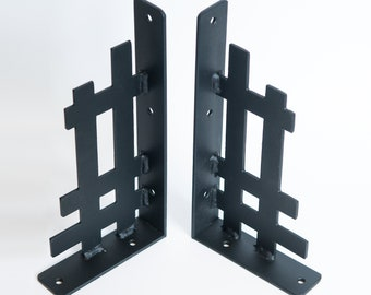 Shelf Brackets - Arts and Crafts Structural Detail Inspired