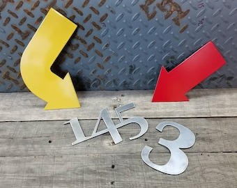 Custom Numbers, Letters, Words, Shapes in steel