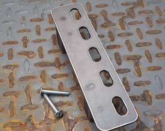 "Mitchell Series industrial 2"" Low profile barn / sliding door handle / pull"