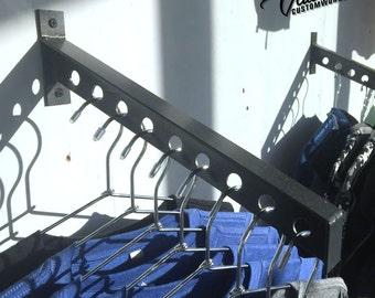 Clothing Display Rack, Storage Rack, Steel, Wall-mount