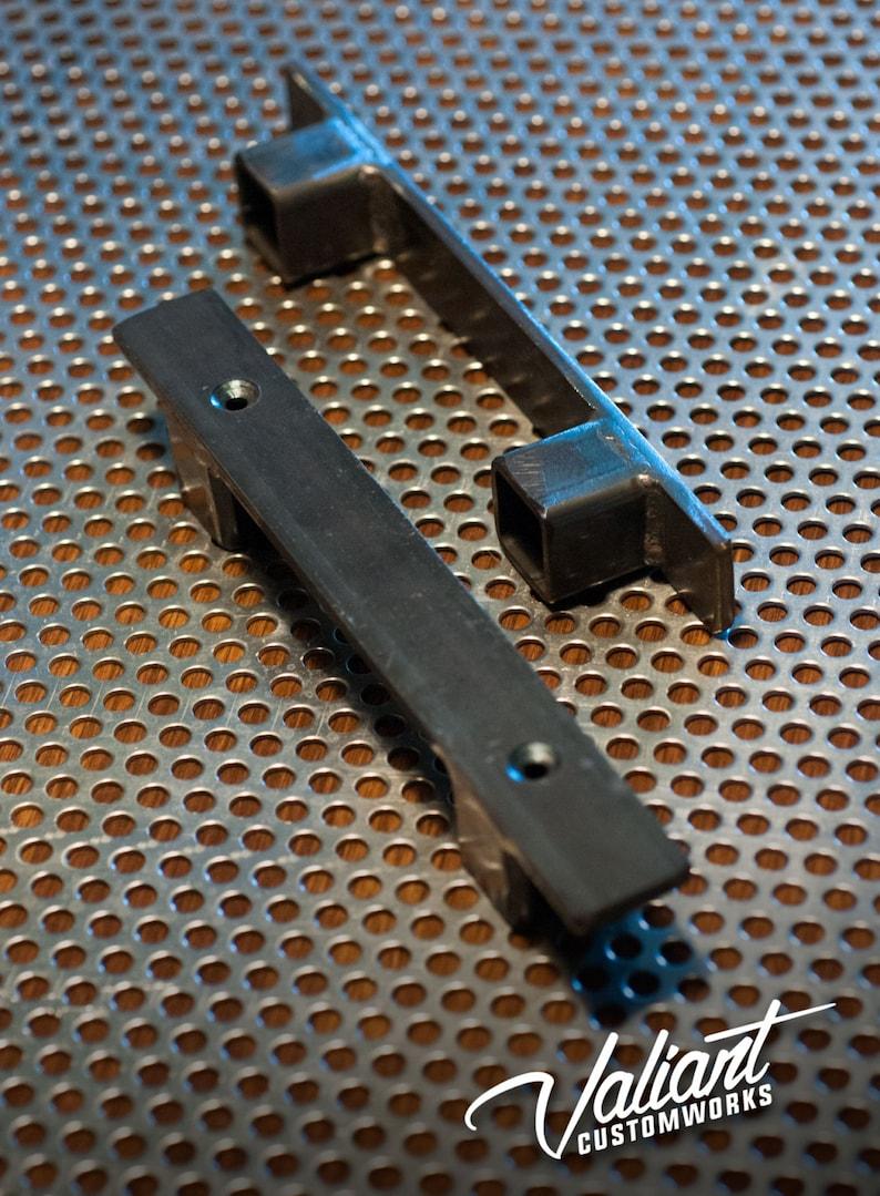 Industrial 1 Low profile barn  sliding door handle  pull