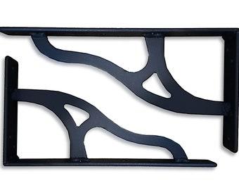 1930s machine leg inspired shelf brackets (type b)