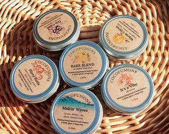 Moisturizing hand & body butters