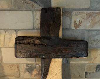 Reclaimed Walnut Cross