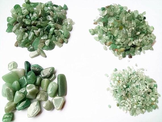 aventurin quarz roh jade stein nat rliche jade aquarium kiese etsy. Black Bedroom Furniture Sets. Home Design Ideas