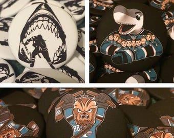 San Jose Sharks Pins