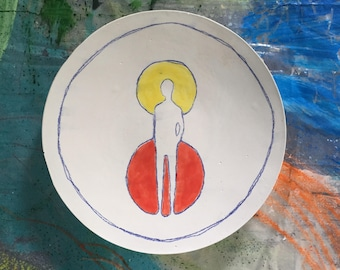 Narrative Ceramic Plate