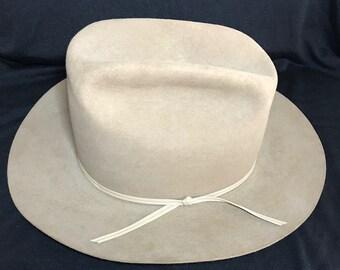 dc0f413572c Vintage Resistol cowboy hat