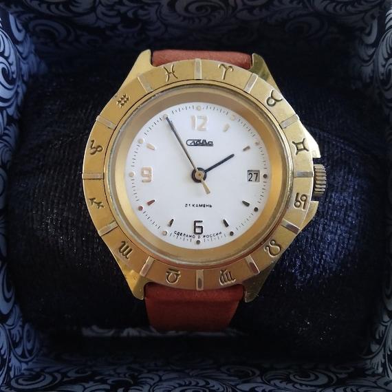 Slava Zodiaс Horoscope watch, Mechanical Watch, Go