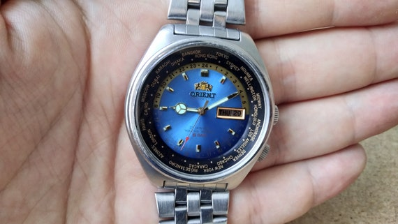 Orient vintage Automatic Watch 21 Jewels Day and Date  c66269fe5e6