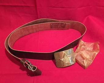 Soviet Army 1980's Belt and Buckle