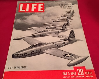 LIFE Magazine July 5th  1948 dated Issue