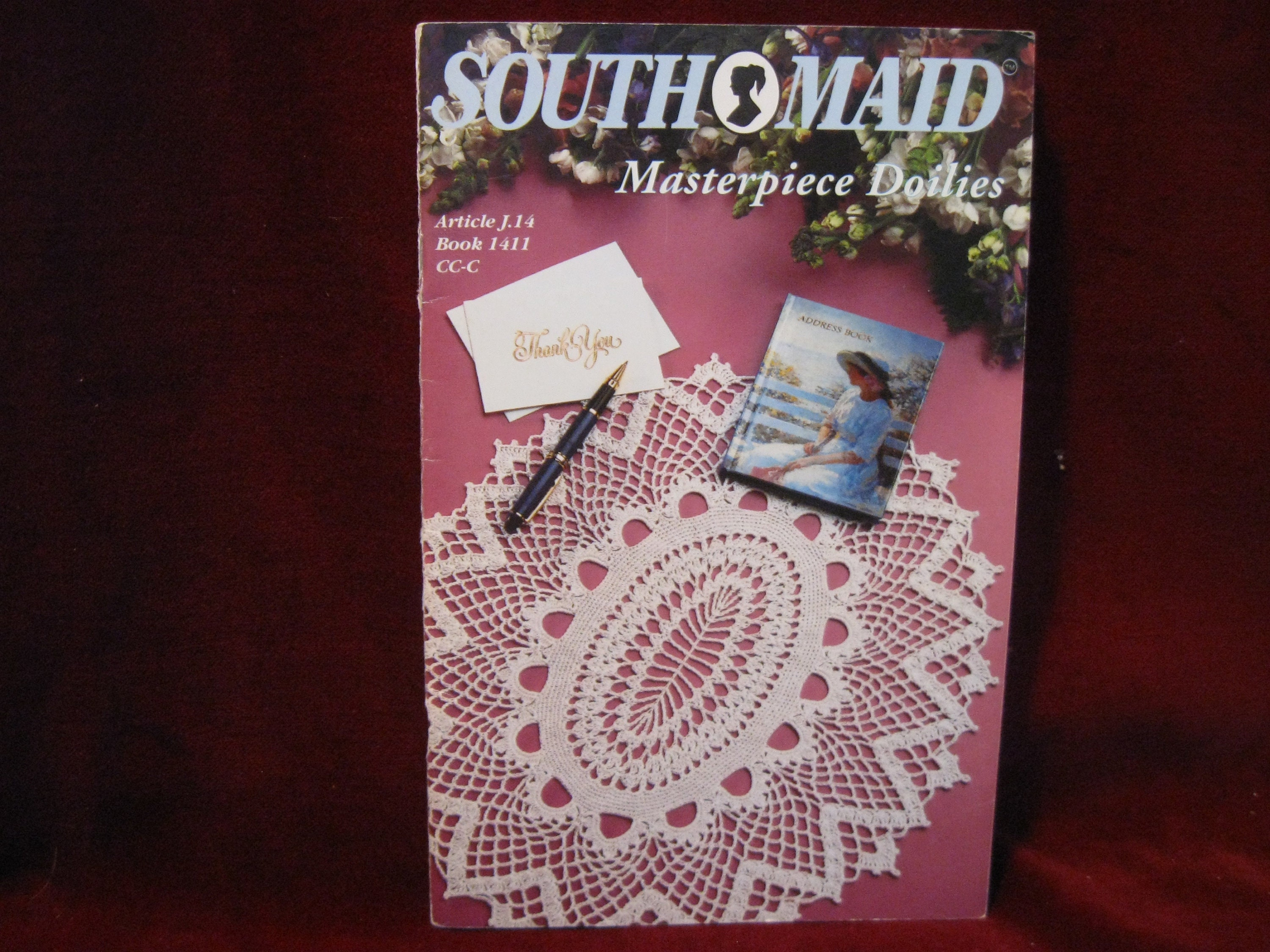South Maid Masterpiece Doilies Crochet Pattern Etsy