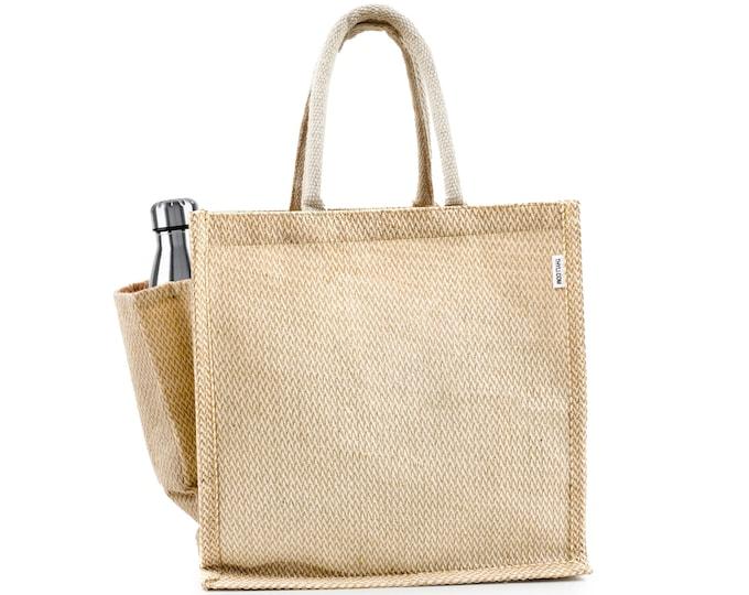 PACIFICA Jute Tote Bag