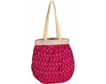 BEG Handloom Cotton Tote Bag