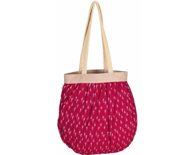 BEG Handloom Cotton Tote Bag