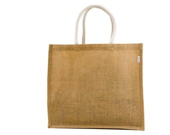BARIS Large Jute Tote Bag