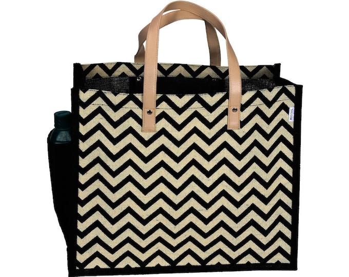 BUDAE Jute Tote Bag