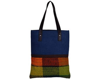 VALISE Juco and Handloom Jute Hand Bag