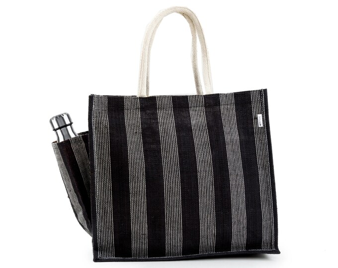 FARICA Jute Tote Bag