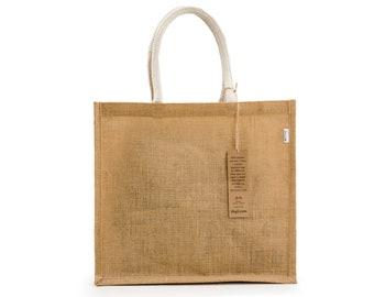 SHEE Jute Tote Bag
