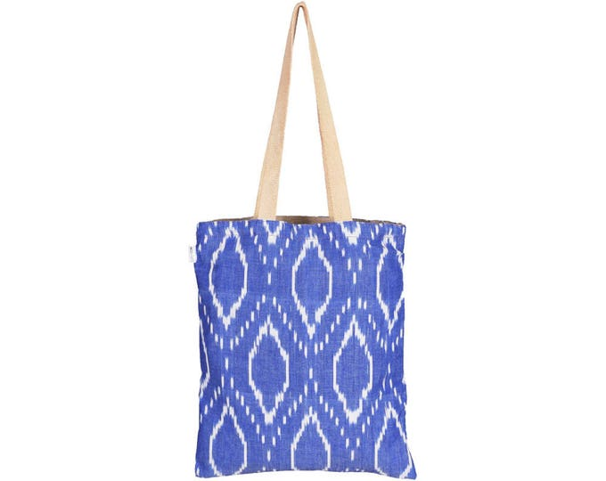 JOLA Handloom Reversible Cotton Tote Bag