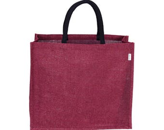 TASCHE Jute Tote Bag