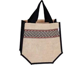ZAK Jute Tote Bag