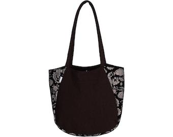 BORSA Canvas and Kalamkari Hand Bag