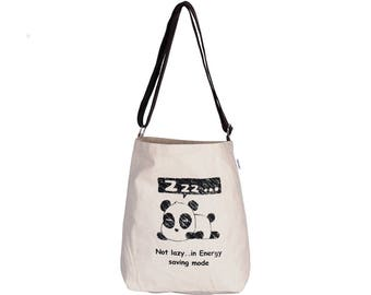 BAO Canvas Adjustable Crossover Sling Bag