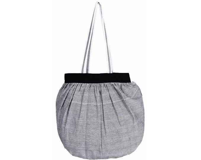 BACDA Handloom Cotton Tote Bag