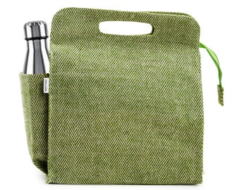 KAZUKO Jute Lunch Bag