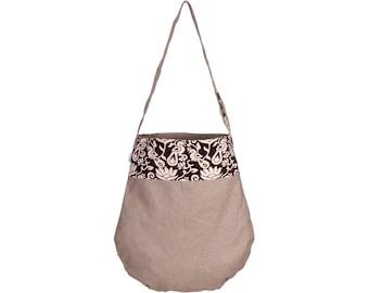 AKPA Canvas and Kalamkari Cotton Tote Bag