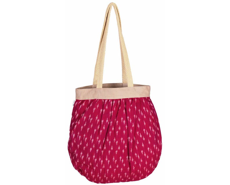 BEG Handloom Cotton eco friendly Shopping Tote Bag