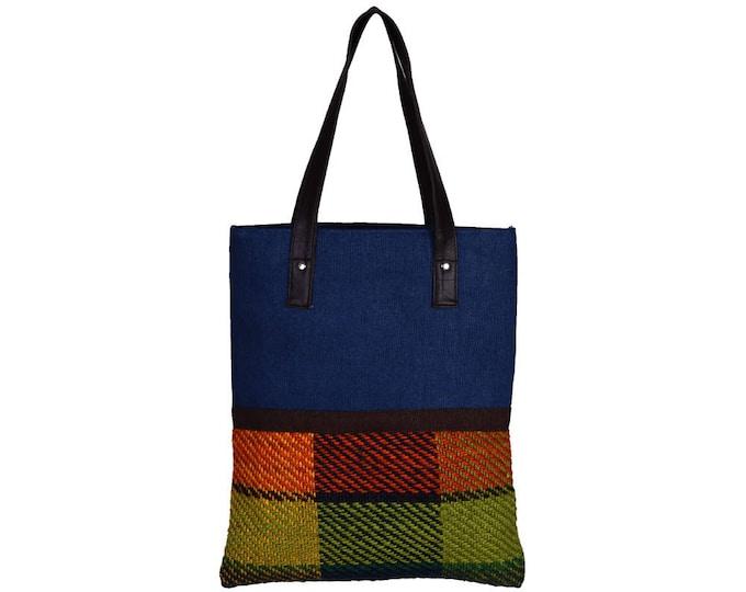 VALISE Juco and Handloom Jute Hand Bag