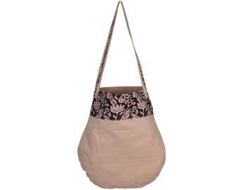 THYLA Handloom Cotton and Kalamkari Tote Bag
