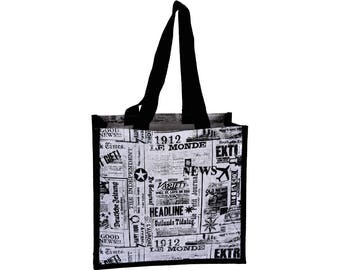 POLTSA Jute Tote Bag