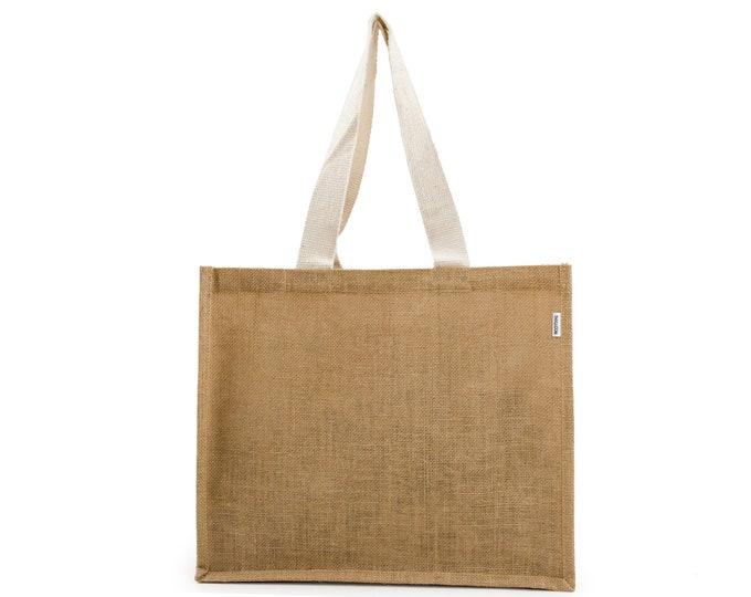 DOVE Jute Tote Bag