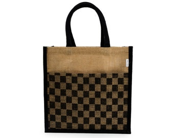 IRENE Jute Tote Bag