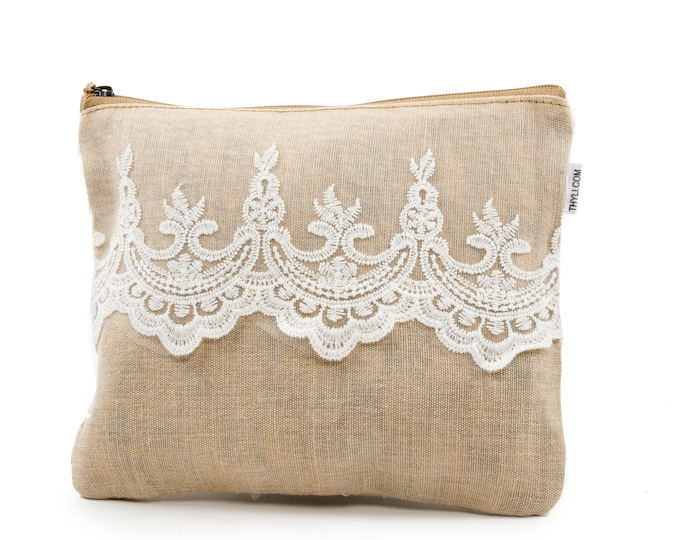 SHALOM Jute Pouch