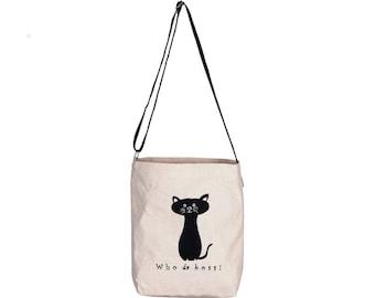 PUCCI Canvas Adjustable Crossover Sling Bag