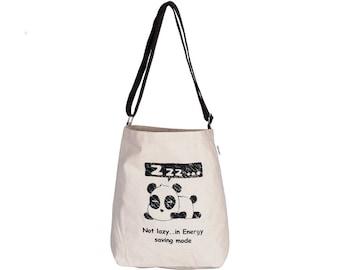 BAO Canvas Adjustable Crossover Sling Bag