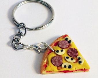 Mini Jewellery Making Kit - Pizza Necklace Kit – Party Bag Filler - DIY Craft Kit
