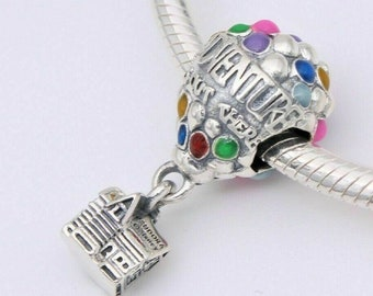 Beads Snake Chain Bracelet Charms Dangles  Chai of Life Charm  New  s925 Sterling Silver