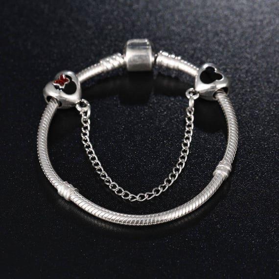 bracelet pandora mickey minnie