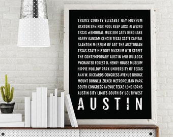 Austin Texas Subway Map.Custom Subway Map Etsy